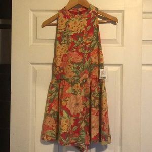 NWT Urban Outfitters Floral Romper